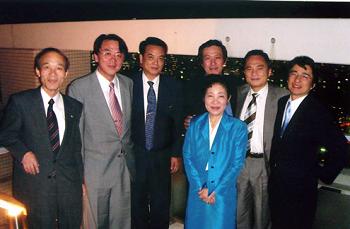 「2006.9.23 日本体質医学会の会長を務めた時の先生方と」