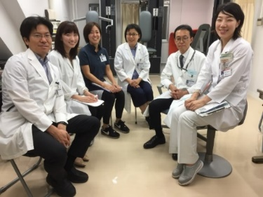 後藤 伸子 先生:肥満症治療チームメンバー(左から4人目が筆者)